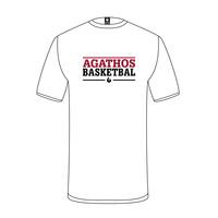 B.C. Agathos T-shirt Wit Tekst