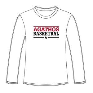 Burned Teamwear B.C. Agathos Longsleeve Wit Tekst