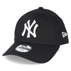 New Era New Era New York Yankees MLB 9Forty Youth Cap Zwart Wit