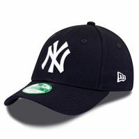 New Era New York Yankees MLB 9Forty Youth Cap Dunkelblau