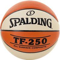Spalding TF-250 Basketbal Braun weiß Indoor / Outdoor (6)
