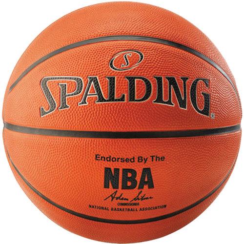 Spalding Spalding Silver NBA Outdoor Basketbal (7)
