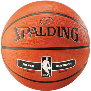 Spalding Spalding Silver NBA Outdoor Basketbal (7)