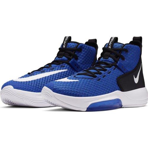 Nike Basketball Nike Zoom Rize (Team) Blauw Wit Zwart