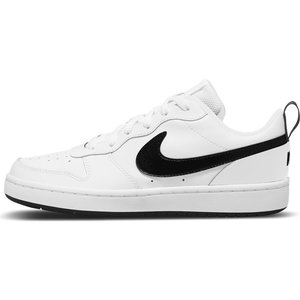 Nike Nike Court Borough Laag 2 Wit Zwart