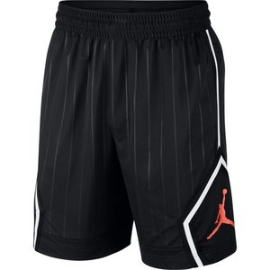 Jordan Basketball Jordan Jumpman Diamond Short Zwart Rood