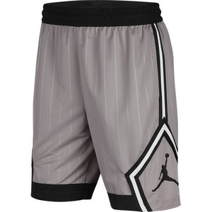 Jordan Basketball Jordan Jumpman Diamond Short Grey Black