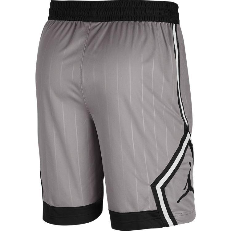 Jordan Basketball Jordan Jumpman Diamond Short Grey Black