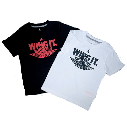Jordan Air Jordan Wing It T-shirt Kids Zwart
