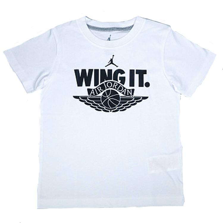 Air Jordan Wing It T-shirt Kids White