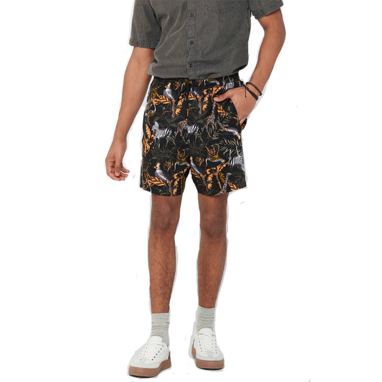 Only & Sons Only & Sons Animal Short Zwart