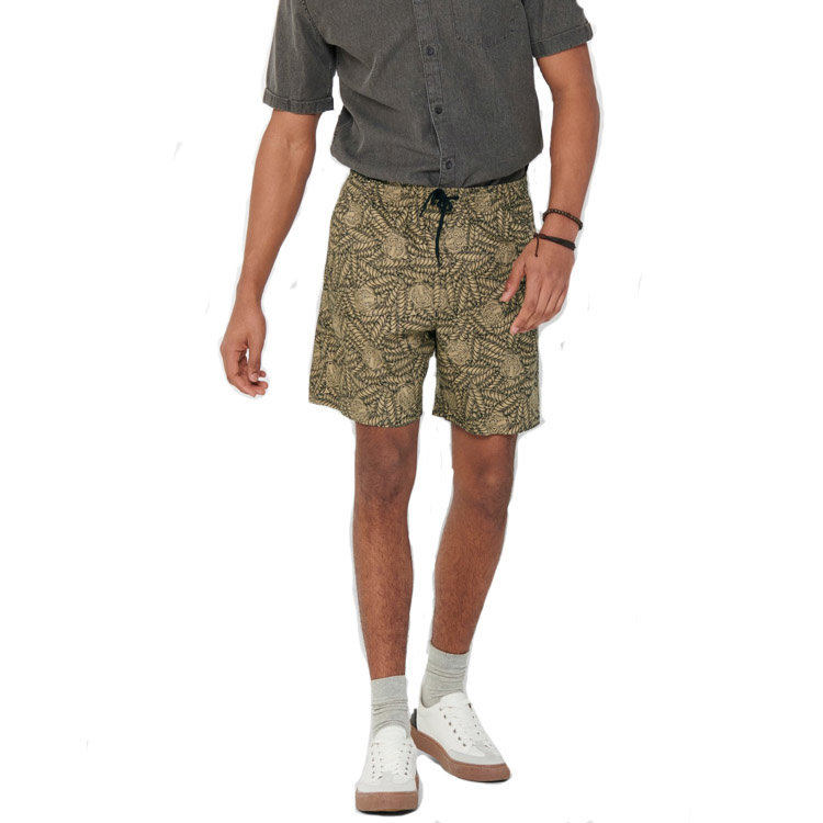 Only & Sons Only & Sons Animal Short Beige