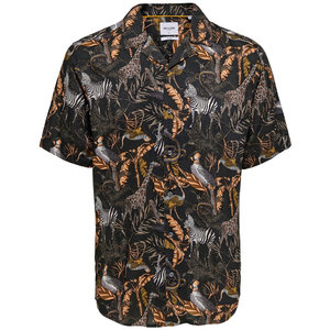 Only & Sons Only & Sons Animal Blouse Zwart