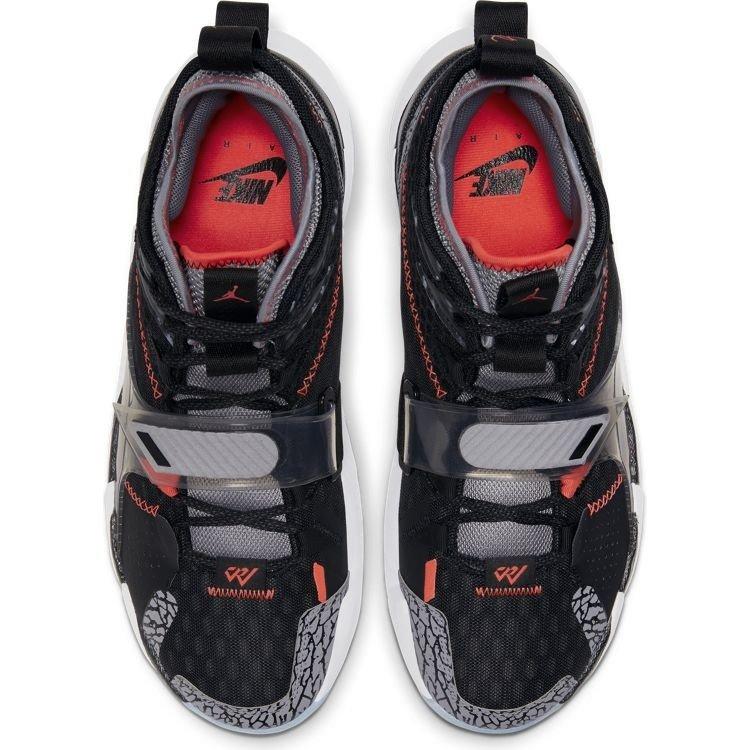 Jordan Basketball Jordan Why Not Zer0.3 Zwart Grijs Wit
