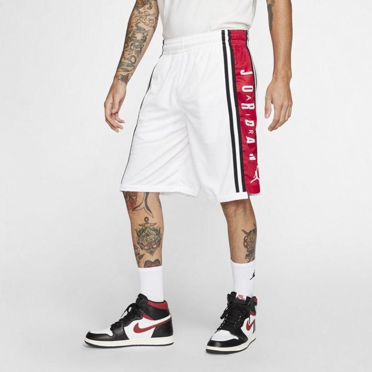 Jordan Basketball Jordan HBR Short White Red