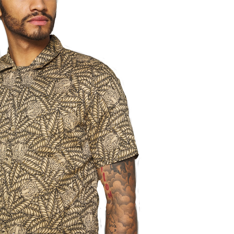 Only & Sons Only & Sons Animal Blouse Beige