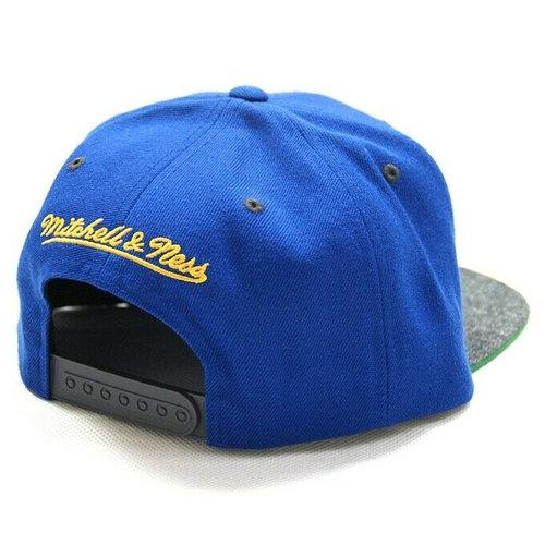 Mitchell & Ness Mitchell & Ness State Warriors Cap Blauw