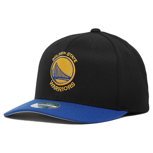 Mitchell & Ness Mitchell & Ness Golden State Warriors Cap Zwart Blauw
