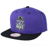 Mitchell & Ness Milwaukee Bucks Cap