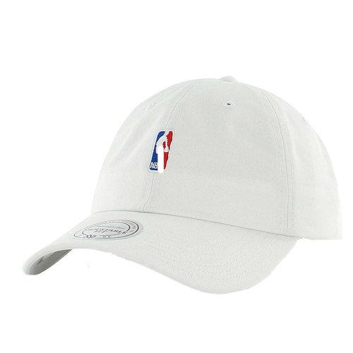 Mitchell & Ness Mitchell & Ness NBA Logo Cap Weiß