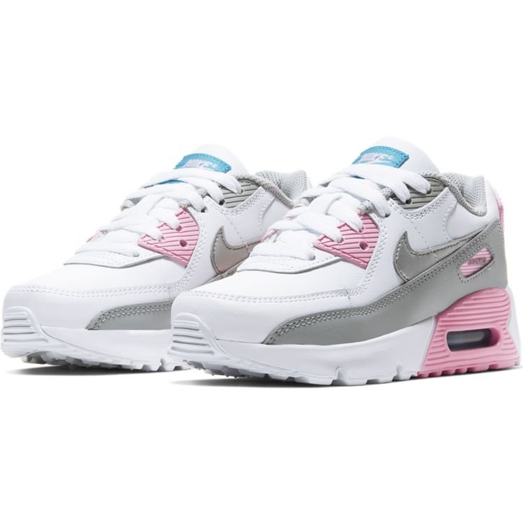 Nike Nike Air Max 90 LTR (PS) Wit Grijs Roze
