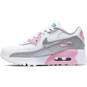 Nike Nike Air Max 90 LTR (PS) White Grey Pink