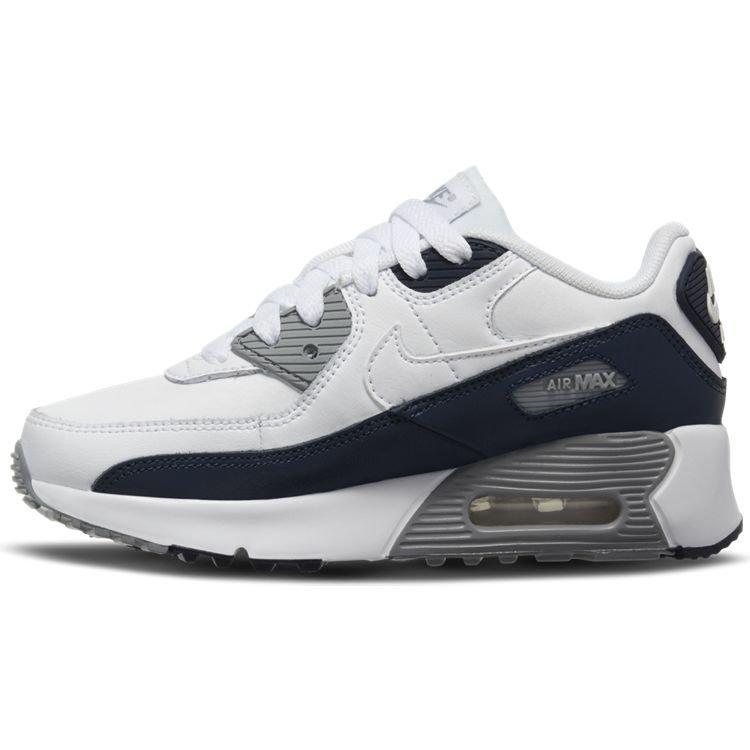 Nike Nike Air Max 90 LTR (PS) Wit Zwart Grijs
