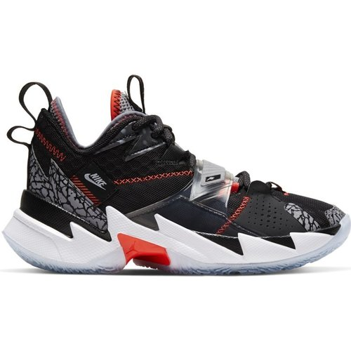 Jordan Basketball Jordan Why Not Zer0.3 (GS) Schwarz Grau Weiß