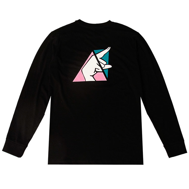 Check Check Clothing Pointing At The Future Longsleeve Zwart
