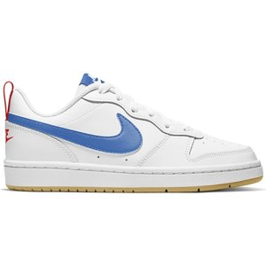 Nike Nike Court Borough Laag 2 Wit Royal Gum