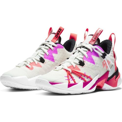 Jordan Basketball Jordan Why Not Zer0.3 SE (GS) Wit Paars Rood