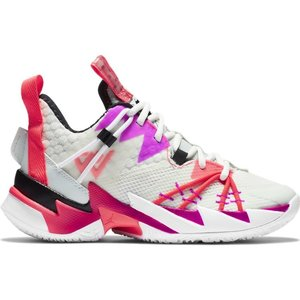 Jordan Basketball Jordan Why Not Zer0.3 SE (GS) White Purple Red