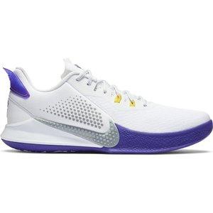 Nike Basketball Nike Mamba Fury Wit Grijs Paars
