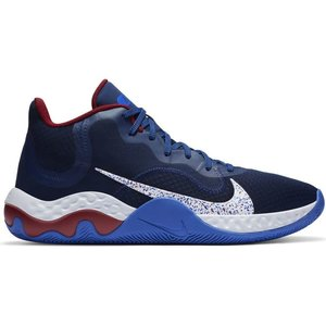 Nike Basketball Nike Renew Elevate Donkerblauw Wit