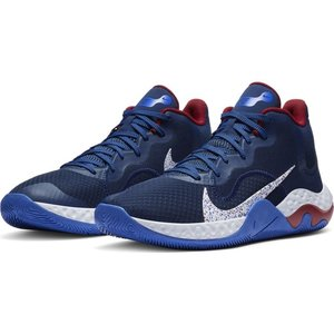 Nike Basketball Nike Renew Elevate Donkerblauw Wit