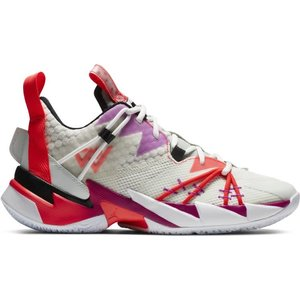 Jordan Basketball Jordan Why Not Zer0.3 White Purple Red
