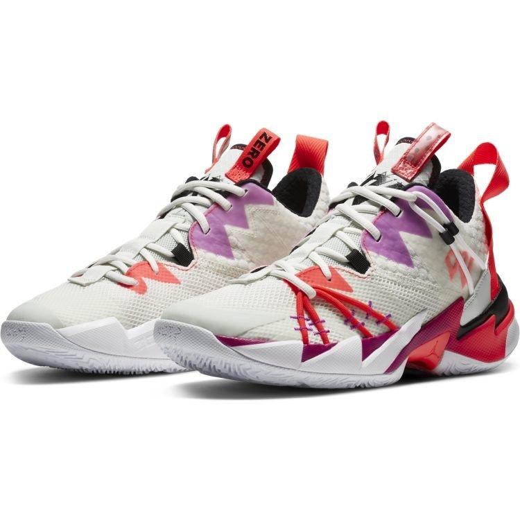 Jordan Basketball Jordan Why Not Zer0.3 Weiß Lila Rot