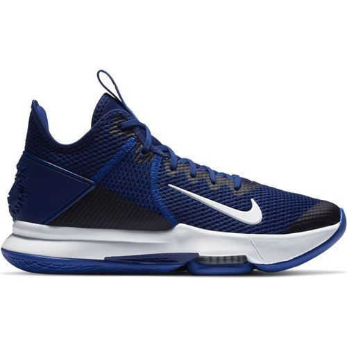 Nike Basketball Nike Lebron Witness IV (Team) Blauw Wit