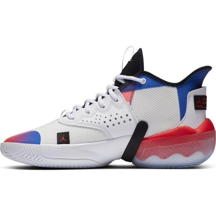Jordan Basketball Jordan React Elevation White Red Blue