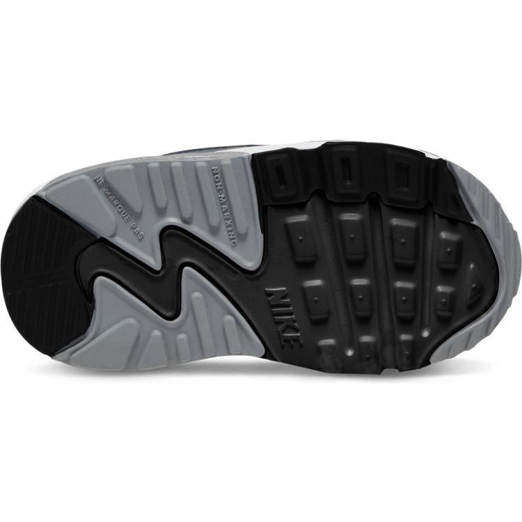 Nike Nike Air Max 90 LTR (TD) Wit Zwart Grijs