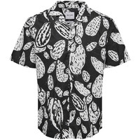 Only & Sons Cactus Blouse Zwart Wit