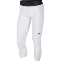 Nike Pro Basketball 3/4 Tight Weiß