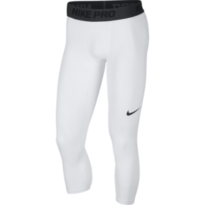 Nike Basketball Nike Pro Basketball 3/4 Tight White