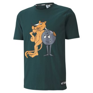 Puma Puma x The Hundred T-shirt Grün