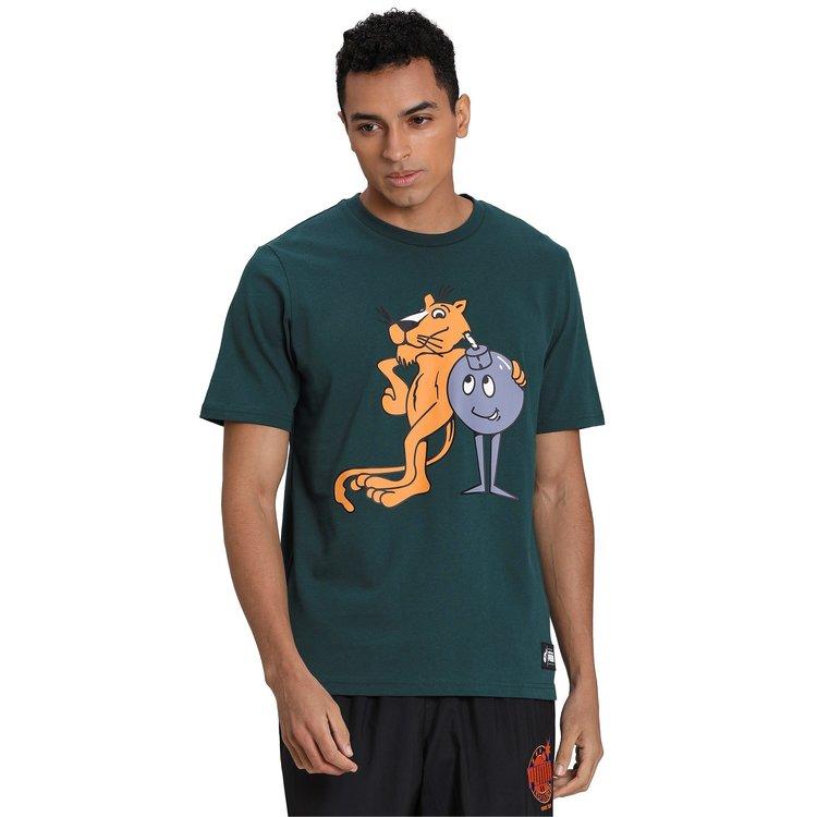 Puma Puma x The Hundred T-shirt Groen