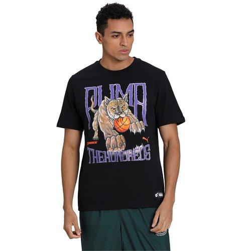 Puma Puma x The Hundred T-shirt Zwart