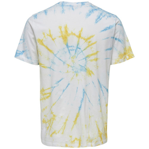 Only & Sons Only & Sons Tie Dye T-Shirt Stop Thinking Wit