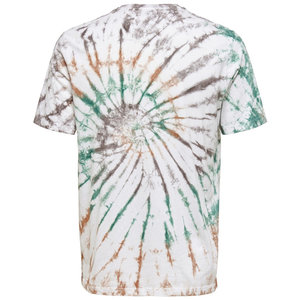 Only & Sons Only & Sons Tie Dye T-Shirt California Surfing Weiß