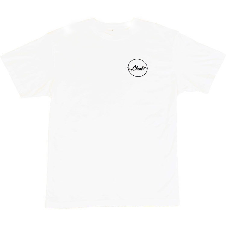 Check Check Clothing All Around Logo T-Shirt Weiß