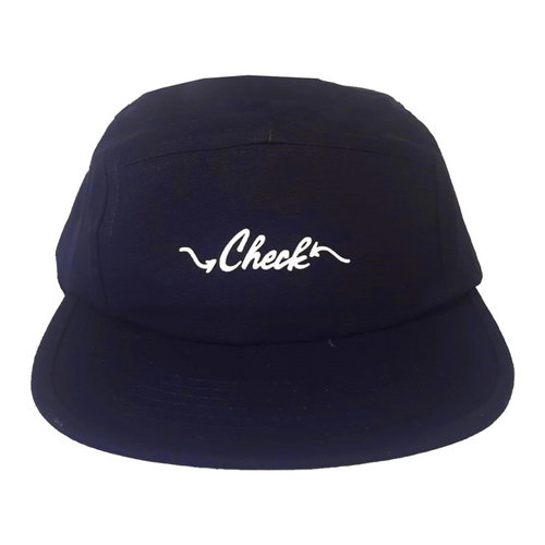 Check Check Clothing 5panel Navy Wit